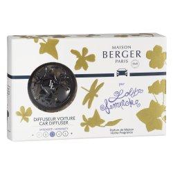 Odorizante auto Set odorizant masina Berger Lolita Lempicka - Gun metal + rezerva ceramica