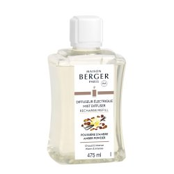 Lumanari & Parfumuri ambient Parfum pentru difuzor ultrasonic Berger Poussiere d'Ambre 475ml