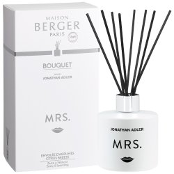 Cadouri Craciun & Decoratiuni Difuzor parfum camera Berger Jonathan Adler Mrs cu parfum Citrus Breeze 180ml