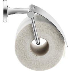 Suport hartie igienica Suport hartie igienica Duravit Starck T cu aparatoare, crom