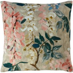 Husa perna Sander Prints Betty 40x40cm, 5 roz peony