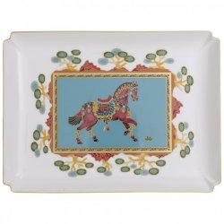 Platou decorativ Villeroy & Boch Samarkand Aquamarin Gifts 28x21cm