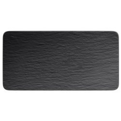 Servirea mesei Platou Villeroy & Boch Manufacture Rock 35x18cm