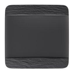 Farfurie plata Villeroy & Boch Manufacture Rock 28x28cm