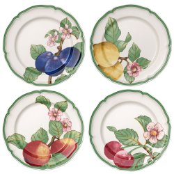Seturi servire Set 4 farfurii Villeroy & Boch French Garden Modern Fruits Dinner 26cm