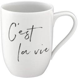 """Cana Villeroy & Boch Statement """"C'est la vie"""" 340ml"""