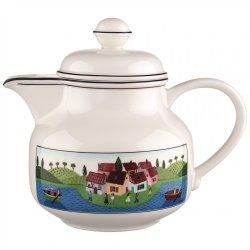 Ceainice, Servire cafea Vas servire ceai Villeroy & Boch Design Naif 0.90 litri
