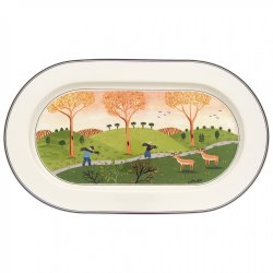 Platou oval Villeroy & Boch Design Naif 34 cm