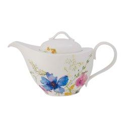 Ceainice, Servire cafea Vas servire ceai Villeroy & Boch Mariefleur Basic 1.20 litri, 6 persoane