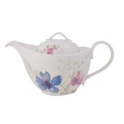 Cadouri pentru pasionati Vas servire ceai Villeroy & Boch Mariefleur Gris Basic 1.20 litri, 6 persoane