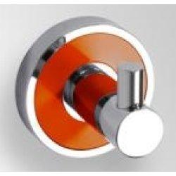 Cuier simplu Bemeta Trend-i ornament portocaliu