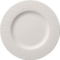 Farfurie plata Villeroy & Boch Manufacture Rock Blanc 27cm