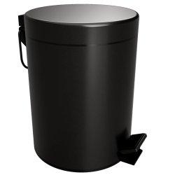 Default Category SensoDays Cos gunoi Bemeta Dark 5litri, capac inchidere lenta, negru