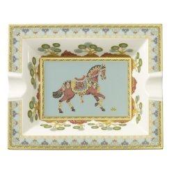 Decoratiuni  Scrumiera Villeroy & Boch Samarkand Aquamarin Gifts 17x21cm