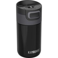 Pahare & Cupe Cana termos Kambukka Etna cu capac 3 in 1 Snapclean, inox, 300ml, Pitch Black