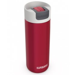 Cana termos Kambukka Olympus cu capac Switch, inox, 500ml, Pomegranate
