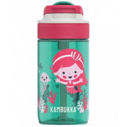 Sticle & Termosuri Sticla Kambukka Lagoon cu capac Spout, Tritan, 400 ml, Ocean Mermaid