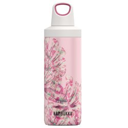 Pahare & Cupe Sticla termos Kambukka Reno cu capac Twist, inox, 500 ml, Monstera Leaves