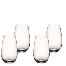 Pahare & Cupe Set 4 pahare apa Villeroy & Boch Entree Tumbler 3 143mm, 0,62 litri
