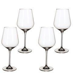 Default Category SensoDays Set 4 pahare vin rosu Villeroy & Boch La Divina Burgundy Goblet 243mm, 0,68 litri