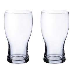 Pahare & Cupe Set 2 pahare bere Villeroy & Boch Purismo Pint 0.65 litri