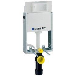 Rezervoare WC Rezervor incastrat Geberit Kombifix Basic Delta de 12 cm grosime cu cadru si actionare frontala H108cm