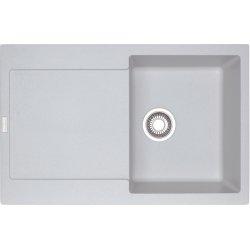 Chiuvete compozit Chiuveta bucatarie fragranite Franke Maris MRG 611 reversibila,  780x500mm, tehnologie Sanitized Bianco