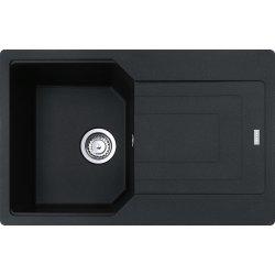 Chiuvete compozit Chiuveta Franke fragranite Urban UBG 611-78, 780x500mm, Nero