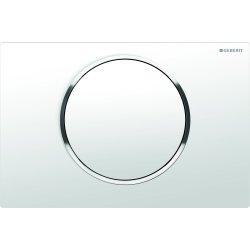 Rezervoare WC Clapeta actionare start/stop Geberit Sigma10 alb/crom lucios/alb