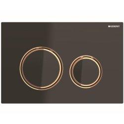 Default Category SensoDays Clapeta actionare Geberit Sigma21 negru / rose-gold
