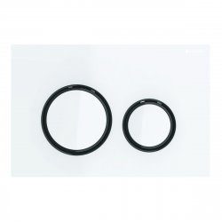 Rezervoare WC Clapeta actionare Geberit Sigma21, alb - crom negru