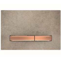 Default Category SensoDays Clapeta actionare Geberit Sigma50 aspect beton / rose-gold