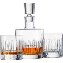 Pahare & Cupe Set carafa si 2 pahare whisky Schott Zwiesel Basic Bar Motion, design Charles Schumann
