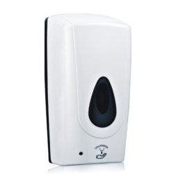 Accesorii baie hotel Dispenser automat sapun lichid Bemeta Hotel plastic alb 135 x 275 x 120 mm, 1000 ml