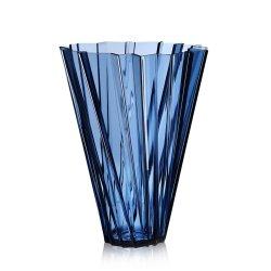 Default Category SensoDays Vaza Kartell Shanghai design Mario Bellini, h44cm, albastru transparent