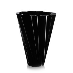 Default Category SensoDays Vaza Kartell Shanghai design Mario Bellini, h44cm, negru
