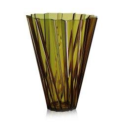 Default Category SensoDays Vaza Kartell Shanghai design Mario Bellini, h44cm, verde transparent