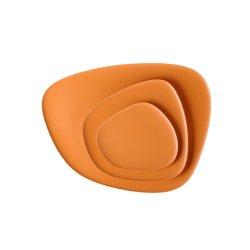 Default Category SensoDays Set 3 platouri Kartell Namaste design Jean-Marie Massaud, orange
