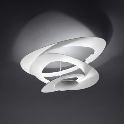 Default Category SensoDays Plafoniera Artemide Pirce Mini design Giuseppe Maurizio Scutella, LED 44W, alb
