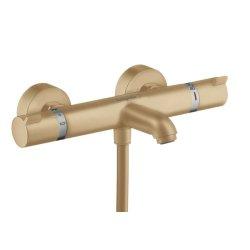 Baterie cada termostatata Hansgrohe Ecostat Comfort, bronz periat
