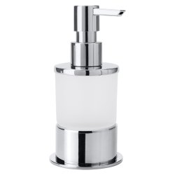 Accesorii baie Dispenser sapun lichid Bemeta Omega sticla alb mat