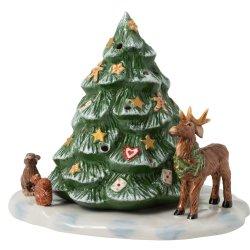 Default Category SensoDays Decoratiune Villeroy & Boch Christmas Toys Christmas Tree with Forest Animals 23x17x17cm