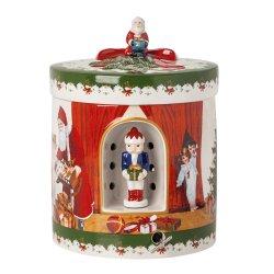 Cadouri Ocazii Speciale Cutiuta decorativa Villeroy & Boch Christmas Toys Santa Brings Gifts 16x16x21,5cm