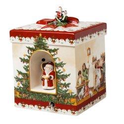 Cadouri Ocazii Speciale Cutiuta decorativa Villeroy & Boch Christmas Toys Kids 17x17x21,5cm