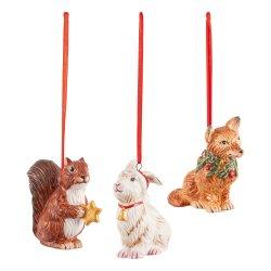 Default Category SensoDays Set 3 decoratiuni brad Villeroy & Boch Nostalgic Ornaments Forest animals, 6x7cm