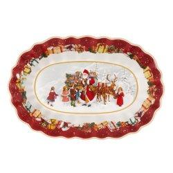 Bol oval Villeroy & Boch Toys Fantasy Santa and Kids 29x19cm