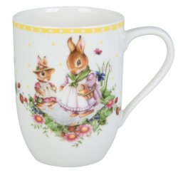 Cadouri de Paste Cana Villeroy & Boch Spring Awakening Bunny Tales Family 0,37 litri