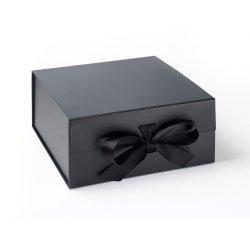 Cadouri pentru Amandoi Cutie cadou FoldaBox XL Deep, inchidere magnetica si fundita, Black