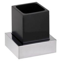 Default Category SensoDays Pahar cu suport Bemeta Gamma de perete, negru