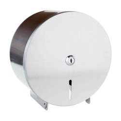Accesorii baie hotel Dispenser rola hartie igienica Jumbo Bemeta Hotel otel inoxidabil mat 260 x 270 x 130 mm